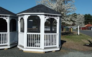 10' Country Octagon Vinyl Gazebo