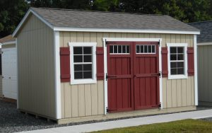 10' x 16' Keystone Ranch T1-11 shed