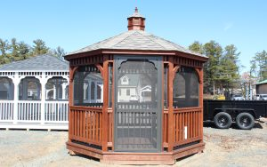12' dutch octagon wood gazebo