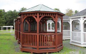 12' dutch wood octagon gazebo