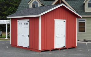 12' x 14' New England Ranch T1-11 shed