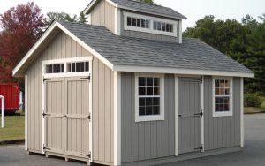 12' x 16' New England Sugar Shack T1-11 shed