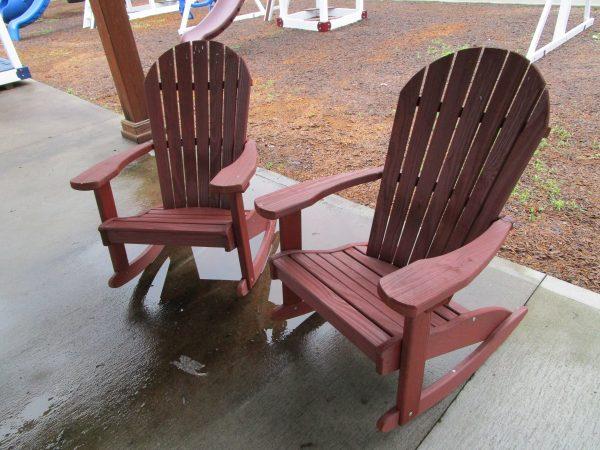 adirondack rocker wood set