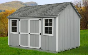 10' x 14' Econoline Cape T1-11 shed