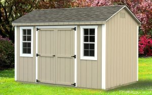 8' x 12' Econoline Cottage T1-11 shed