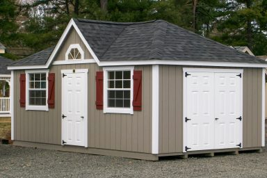 moveable shed with dormer