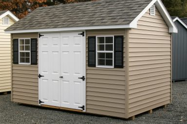 gable garden shed