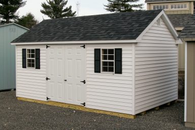 gable style shed