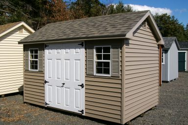 low gable shed
