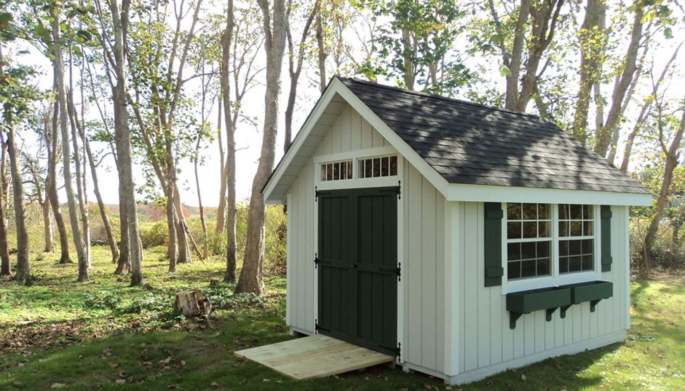 storage sheds from hometown structures