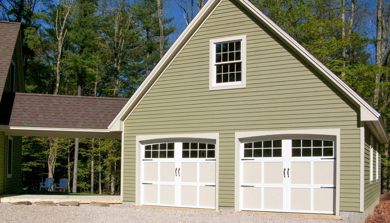 prefab garages from hometown structures