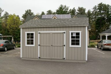 backyard workshop shed