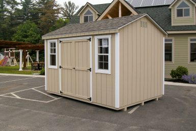 classic a frame gable shed