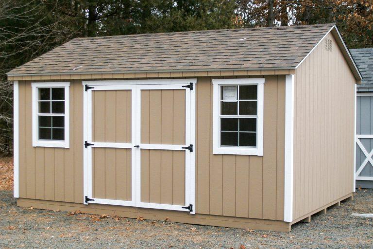 classic bike shed