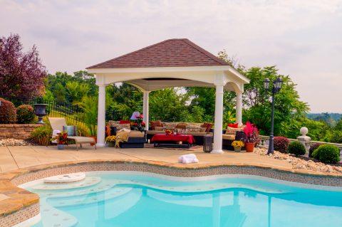 prefab outdoor pavilions
