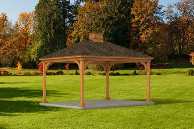 custom large pavilion