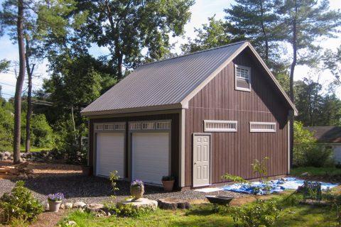 24x24 2 car garage