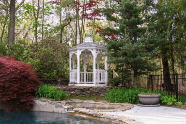 backyard garden gazebo