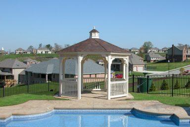 poolside garden gazebo