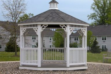 upgraded garden gazebo