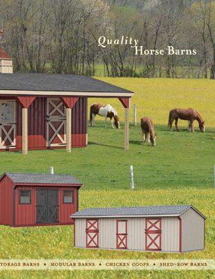 horse barn catalog