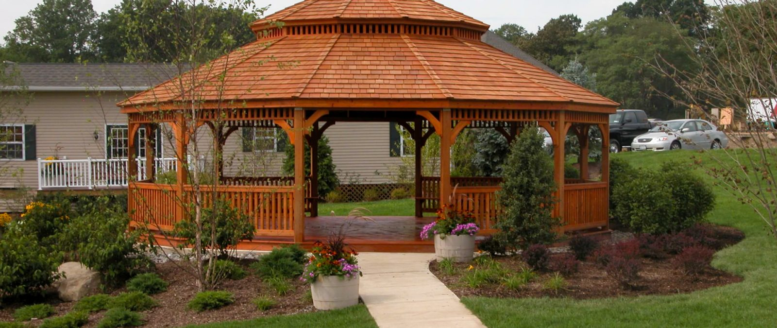 large dodecagon gazebo