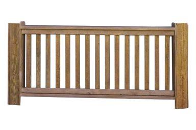 dodecagon gazebo railing
