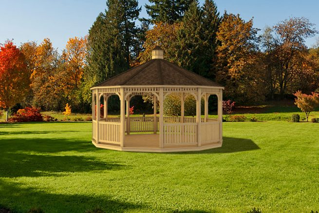 custom dodecagon gazebo
