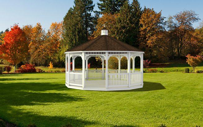 custom built park gazebo