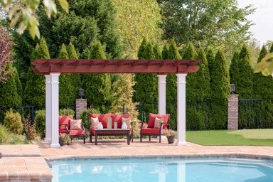 rustic pergola for sale