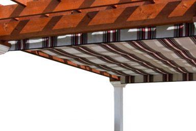 rustic pergola canopy
