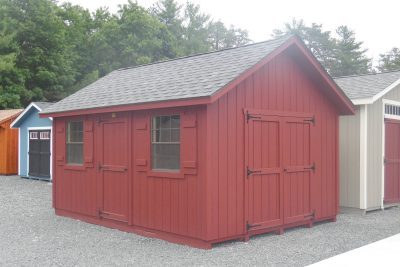 12' x 16' new england cape t1 11 shed