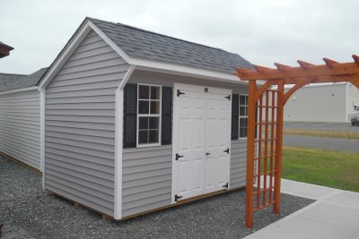 8' x 12' keystone quaker vinyl shed