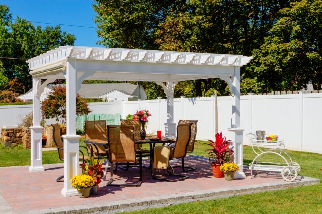 outdoor structures for patios