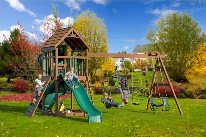 small outdoor structure playset