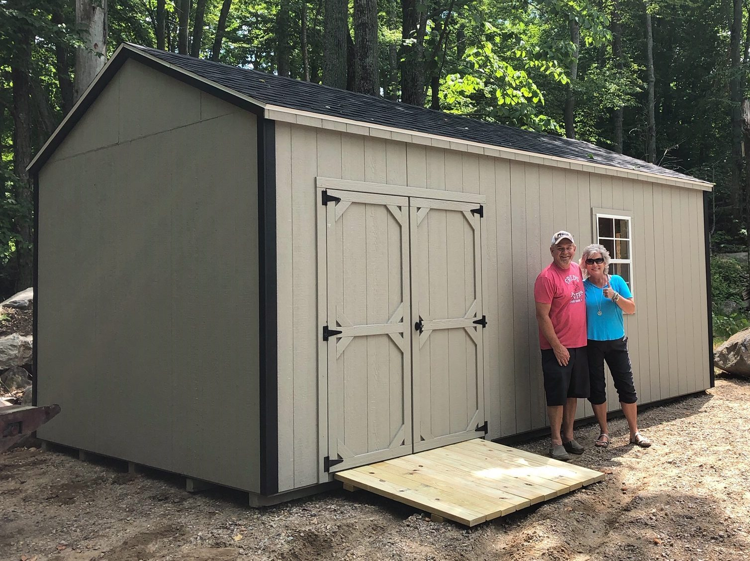 happy backyard storage sheds owners