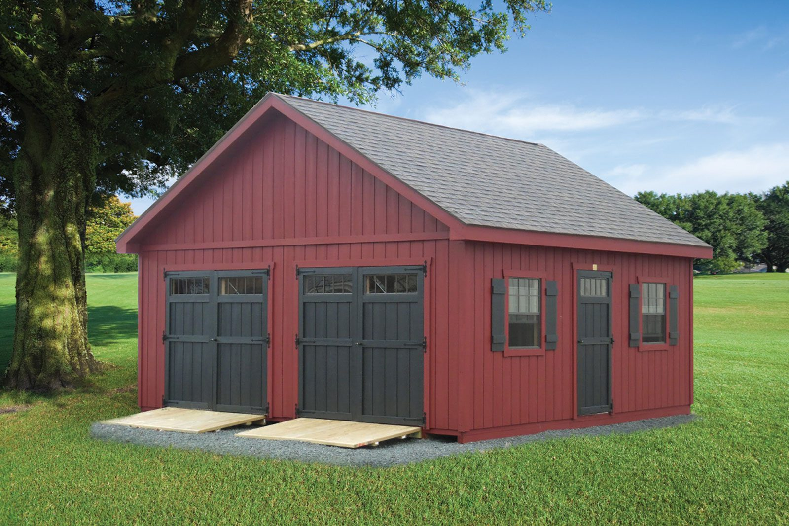 homestead backyard storage sheds