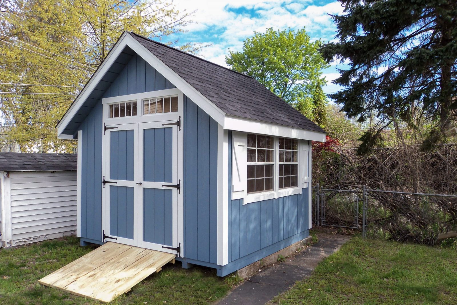 new england backyard storage sheds