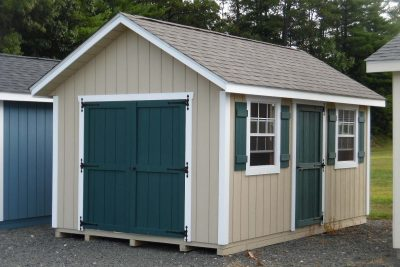 10' x 16' New Rngland Cape Shed T1-11