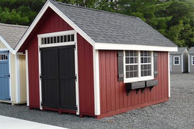 10' x 14' New England Country T1-11 shed