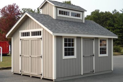 12' x 16' New England Sugar Shack T1-11 shed