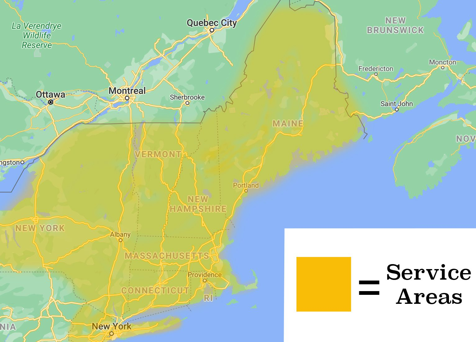 hometown structures service areas