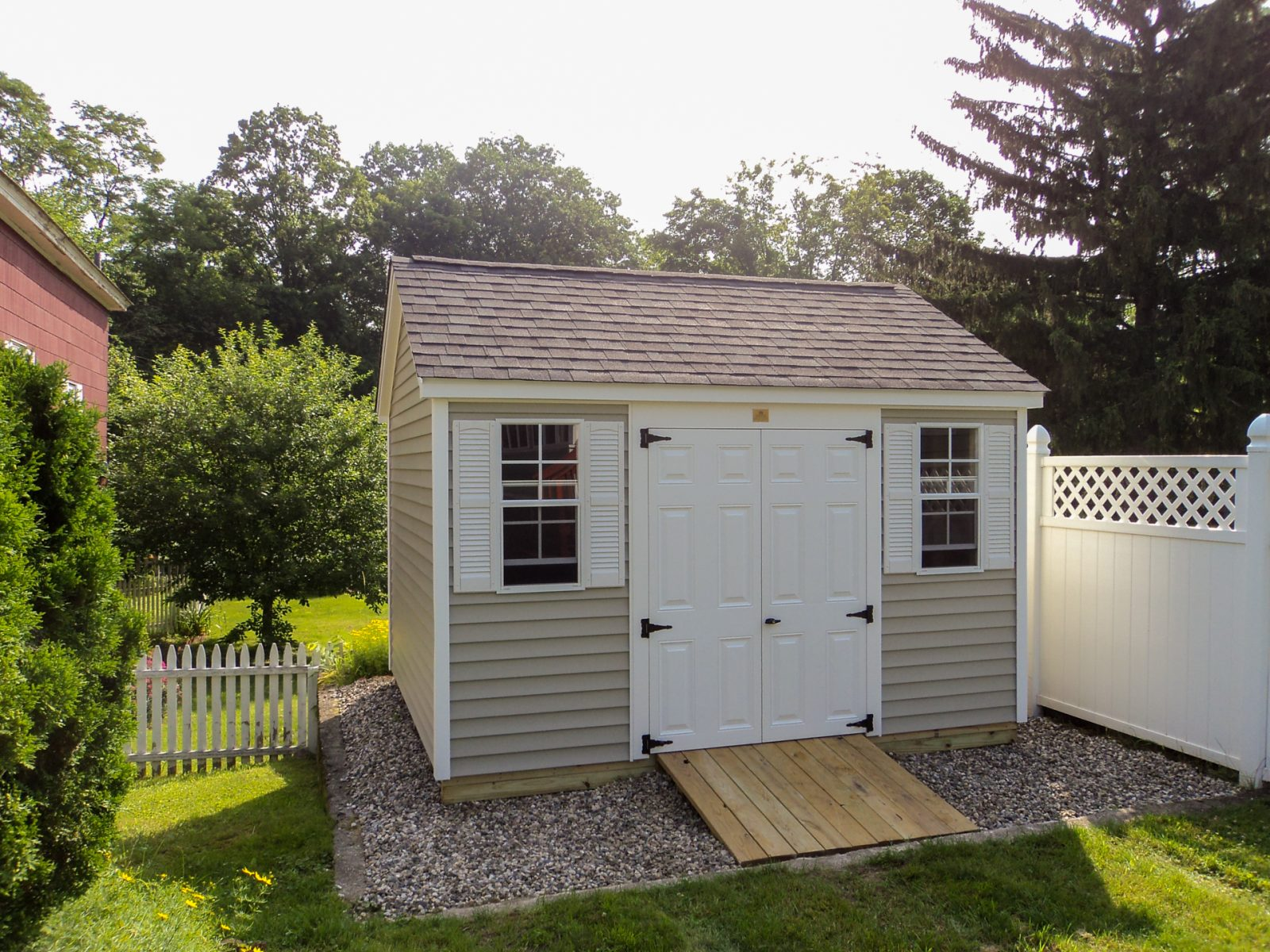 outdoor shed in ma