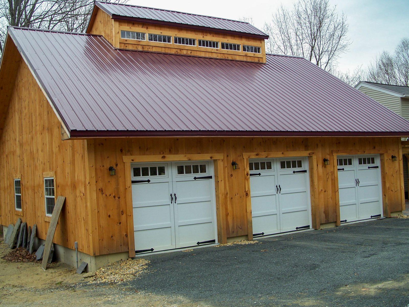 3 car detached garages near worcester ma