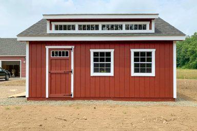 pre built sheds with dormer