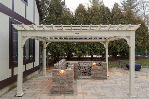 patio with pergola designs