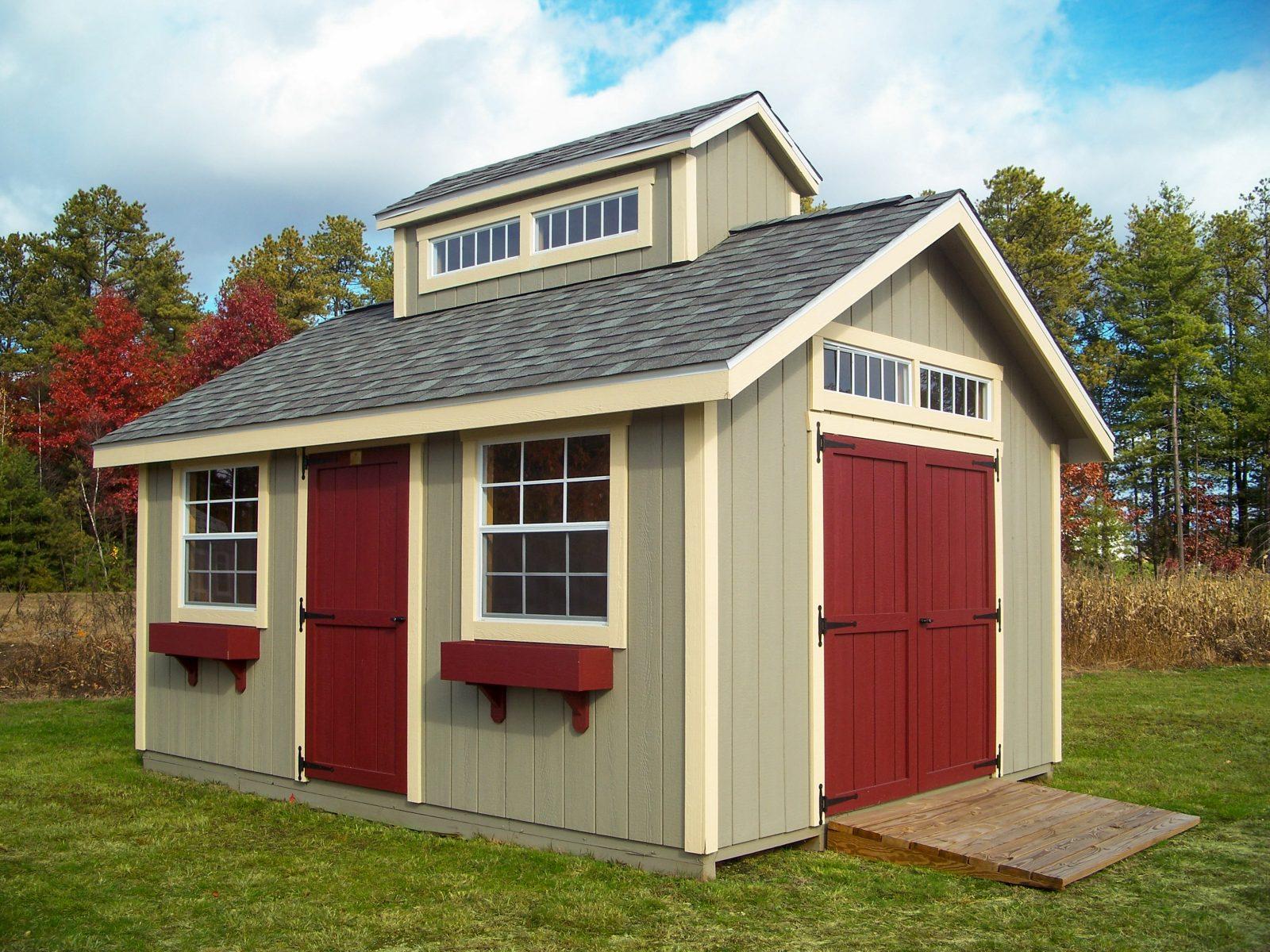 wood storage sheds for sale