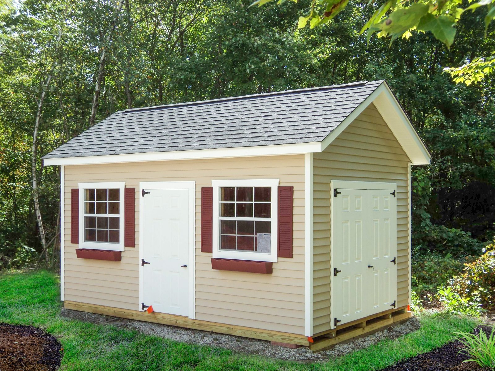 new england wood storage sheds in ny
