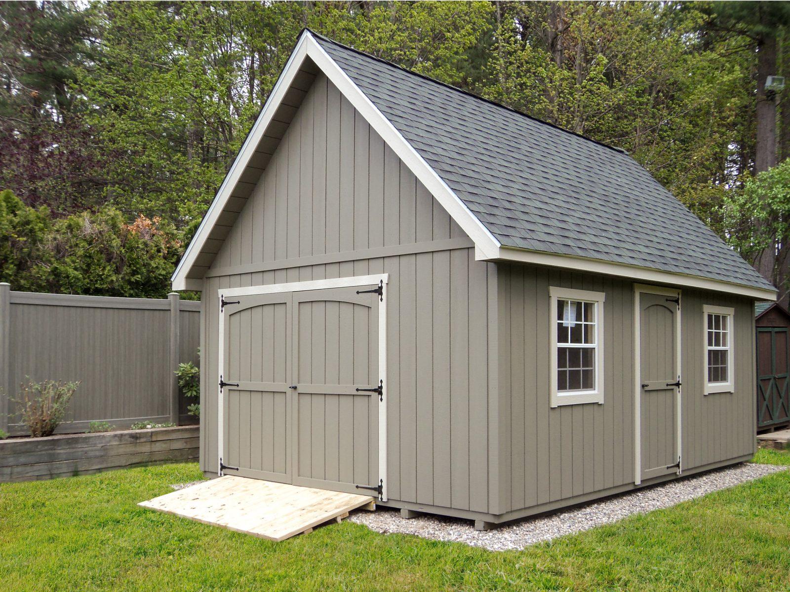 large garden storage shed