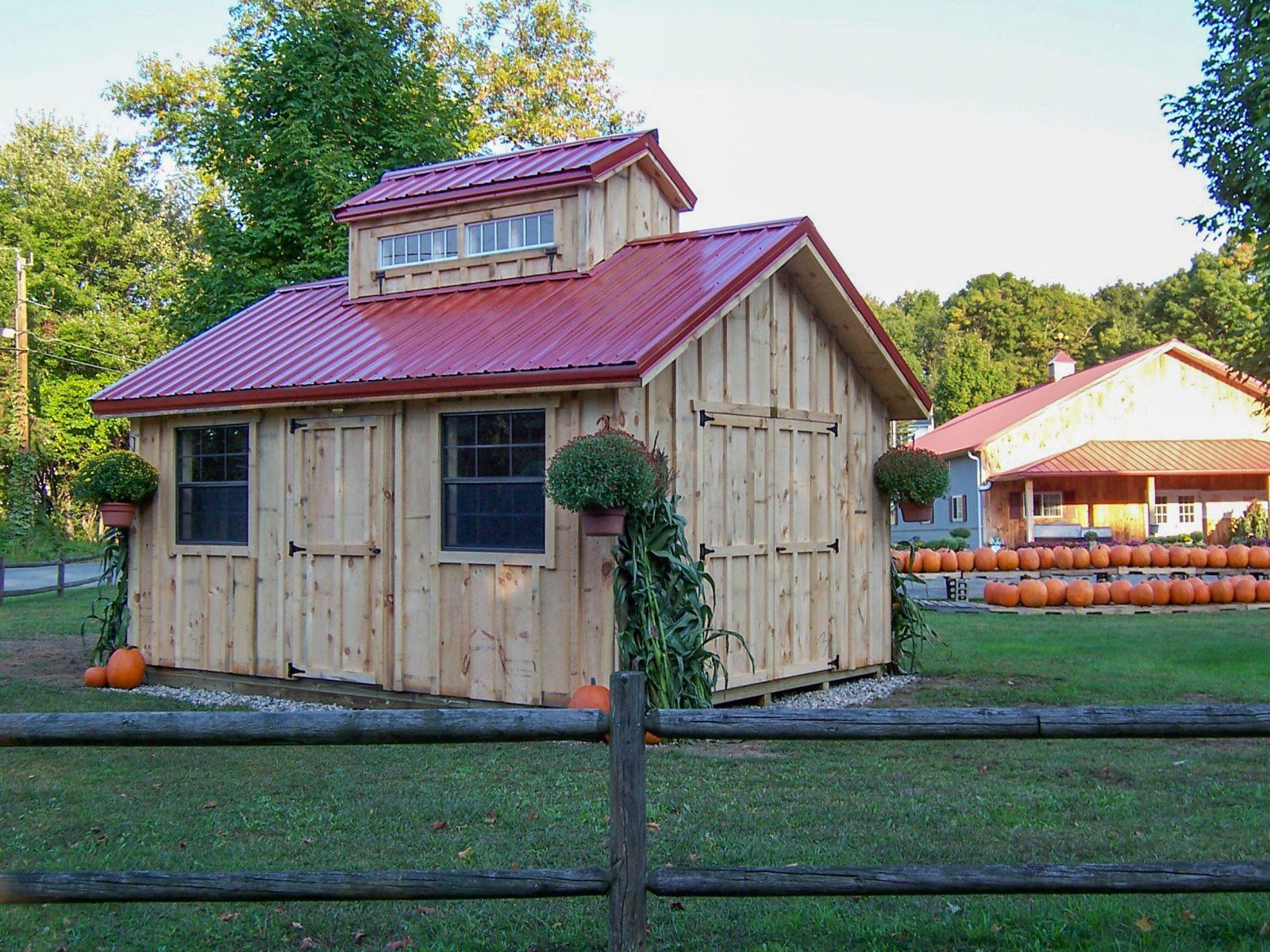 custom garden storage sheds in nh